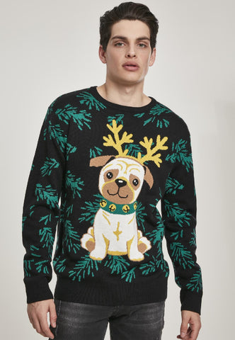 Pug Christmas Sweater
