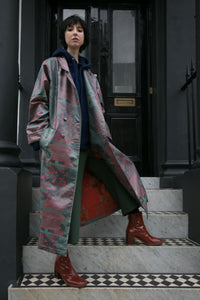Picnic Trench Raincoat - BOO PALA LONDON