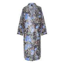 Load image into Gallery viewer, Bingo Blue Trench Raincoat - BOO PALA LONDON