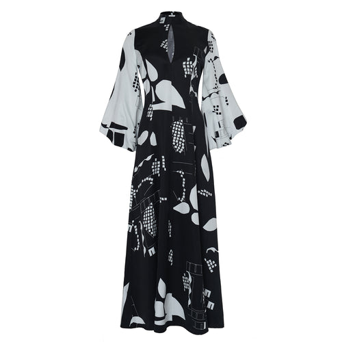Abstract Faith Dress - BOO PALA LONDON