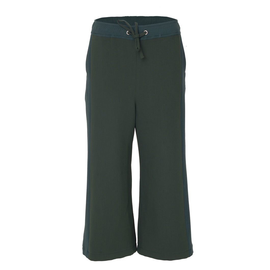 Vouge Green Trousers - BOO PALA LONDON
