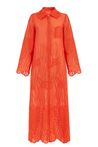 Recycled Alanis Kaftan - Orange