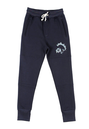Bunko Sweatpants - Navy - BOO PALA LONDON