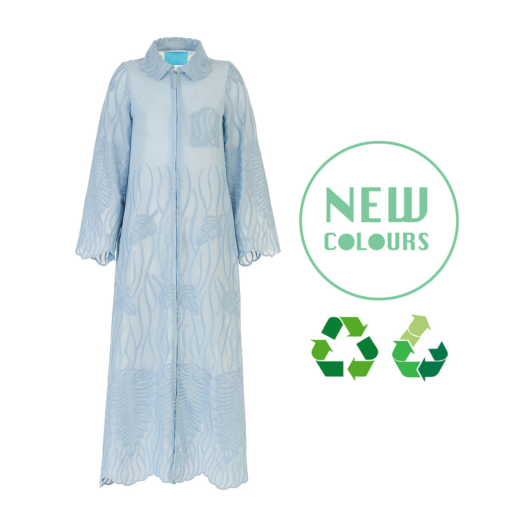 Recycled Alanis Kaftan - Baby Blue
