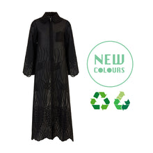 Load image into Gallery viewer, Recycled Alanis Kaftan - Black