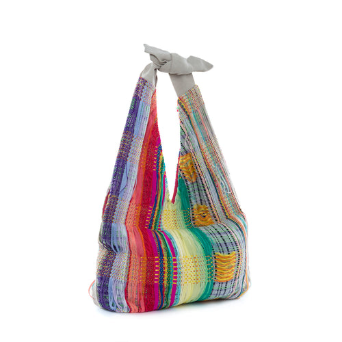 Summer Hues Woven Tote - BOO PALA LONDON