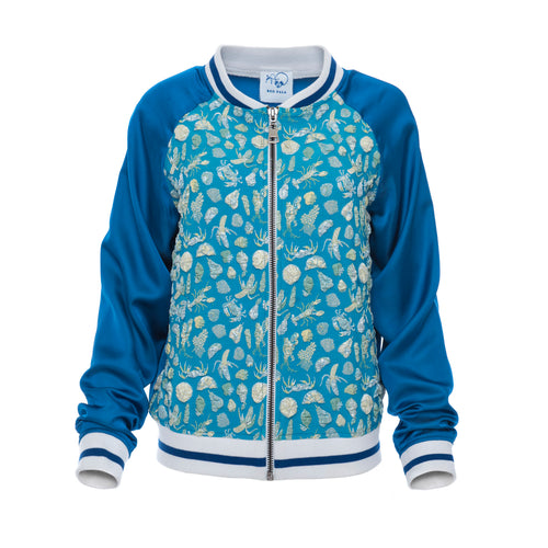 Seashells Bomber Jacket - BOO PALA LONDON