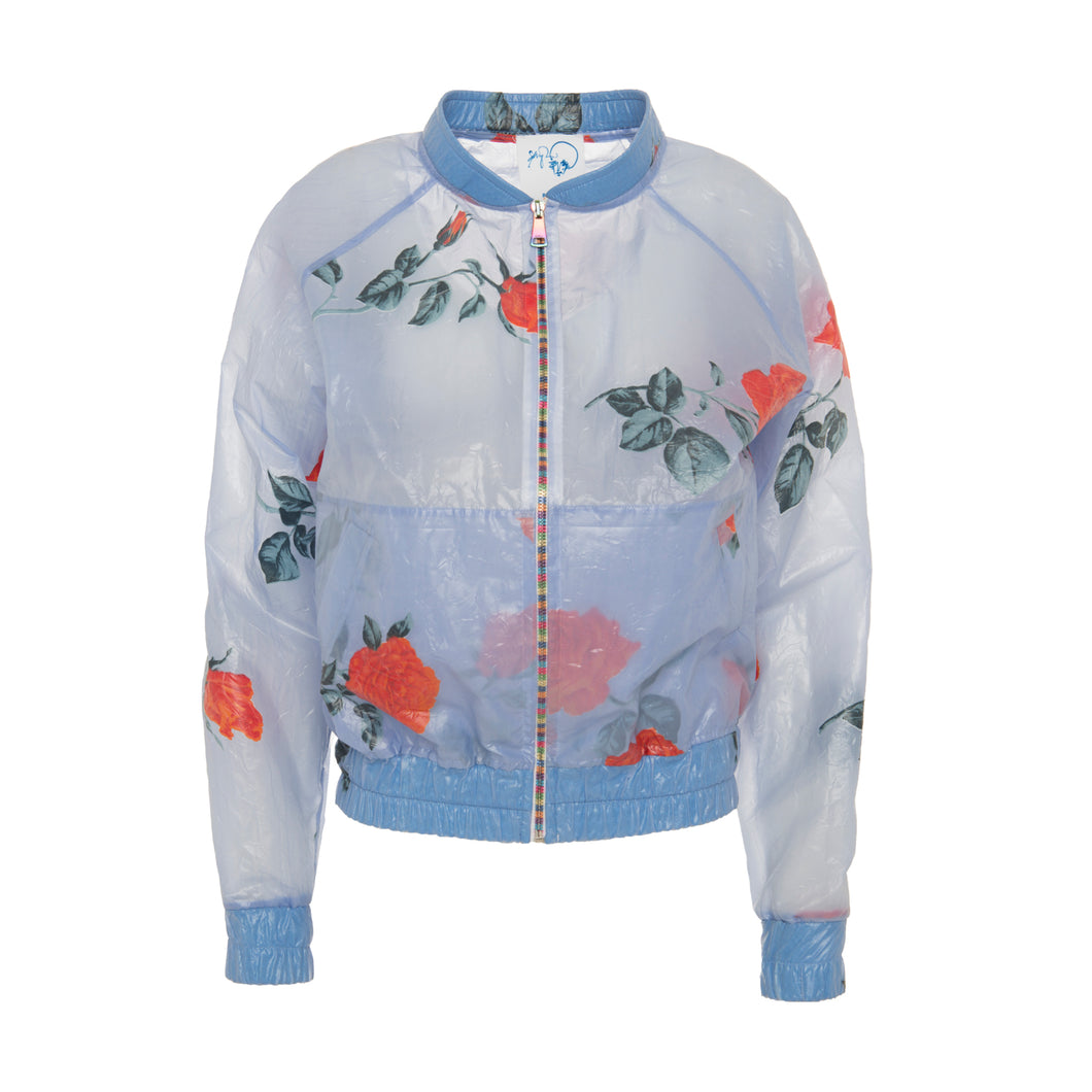 Rose Raincoat Bomber Jacket - BOO PALA LONDON