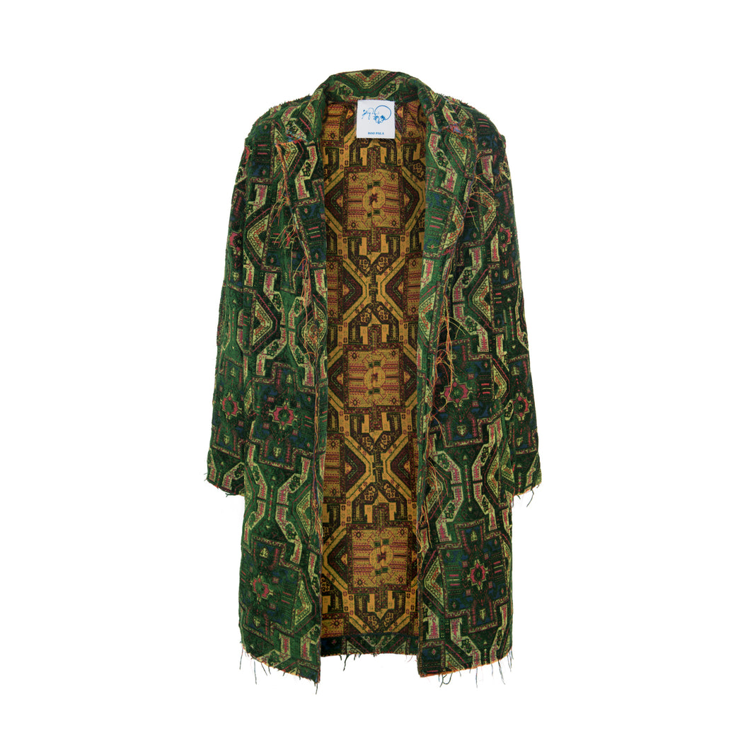 Magic Carpet Jacket - Green - BOO PALA LONDON