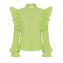Load image into Gallery viewer, Neo Green Shirt - BOO PALA LONDON