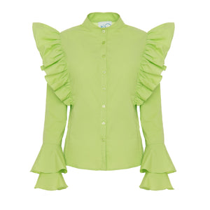 Neo Green Shirt - BOO PALA LONDON