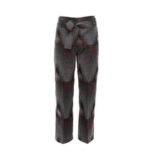 Freeform Trousers - Burgundy - BOO PALA LONDON