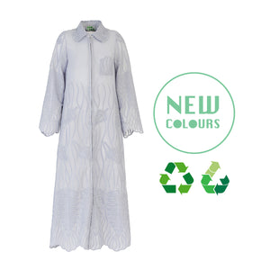 Recycled Alanis Kaftan - Icy Lilac