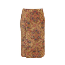 Load image into Gallery viewer, Beige Magic Carpet Pencil Skirt