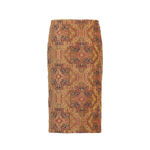 Beige Magic Carpet Pencil Skirt