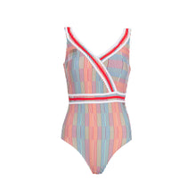 Load image into Gallery viewer, Stripe Lines Swimsuit