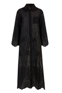 Recycled Alanis Kaftan - Black