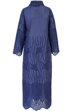 Load image into Gallery viewer, Recycled Alanis Kaftan - Navy