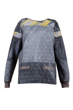 Grey Strata Sweatshirt - BOO PALA LONDON