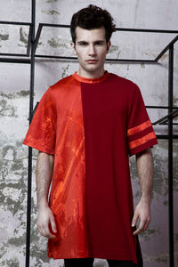 Unisex Red Hues T-Shirt - BOO PALA LONDON