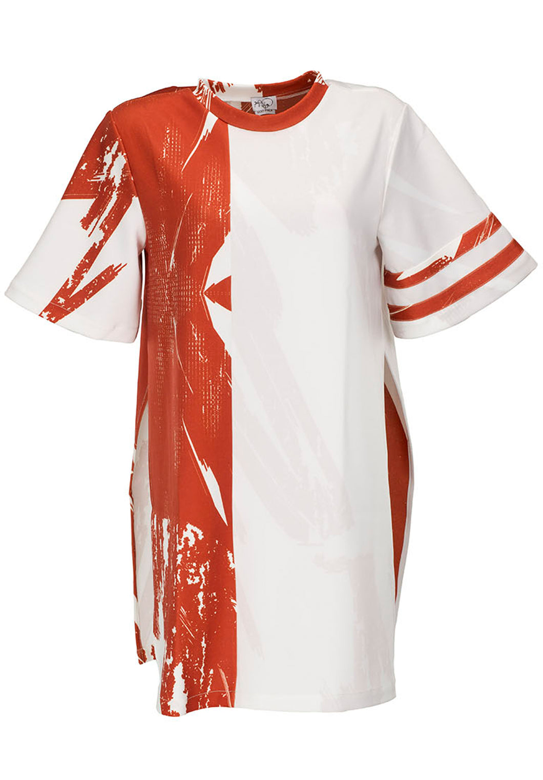 Unisex Red & White Hues  T-Shirt - BOO PALA LONDON
