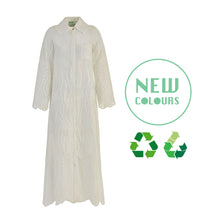 Load image into Gallery viewer, Recycled Alanis Kaftan - White