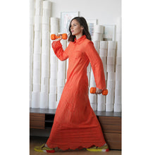 Load image into Gallery viewer, Recycled Alanis Kaftan - Orange