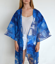 Load image into Gallery viewer, Deep Blue Kimono Jacket - BOO PALA LONDON