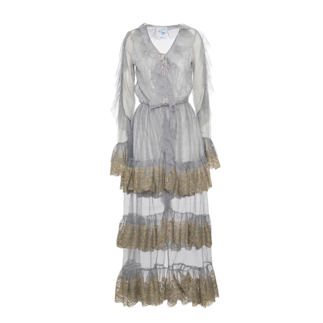 Bianca Lace Dress - BOO PALA LONDON
