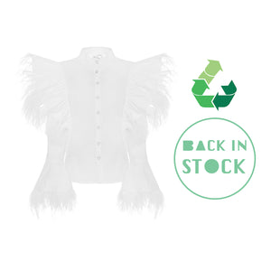 Emi Feathers Shirt
