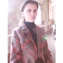 Load image into Gallery viewer, Esperanto Language Blazer - Burgundy - BOO PALA LONDON