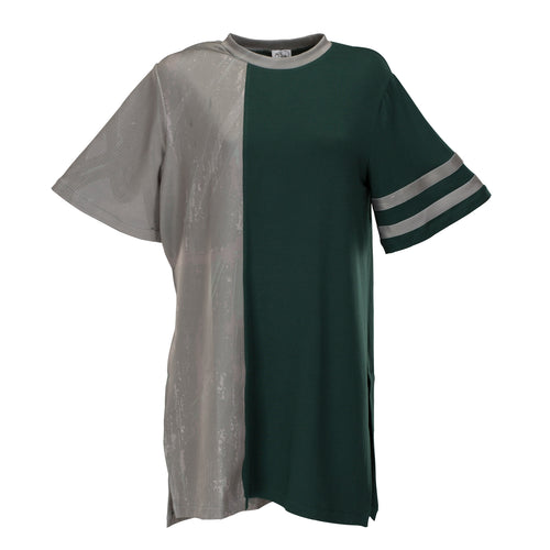 Unisex Green & Grey T-Shirt - BOO PALA LONDON