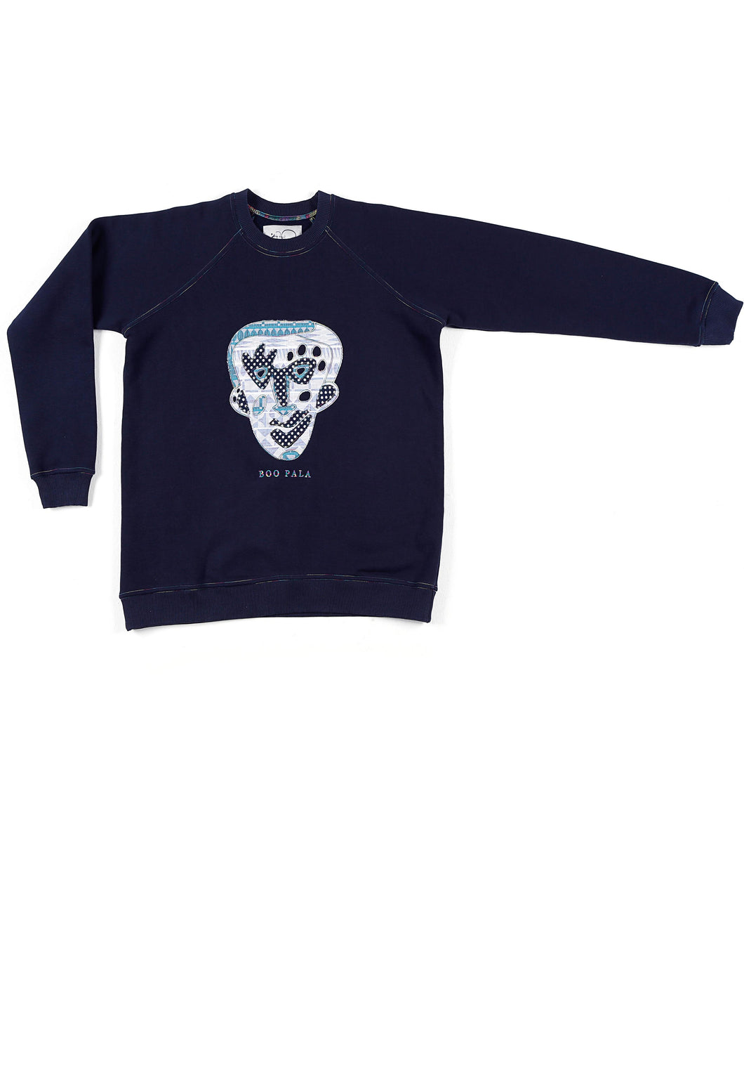 JANE DOE SWEATSHIRT - NAVY - BOO PALA LONDON