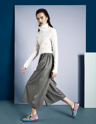 RIKA TROUSERS - GREY