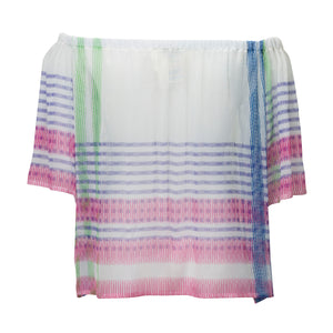 Layers Crinkle Silk Top - BOO PALA LONDON