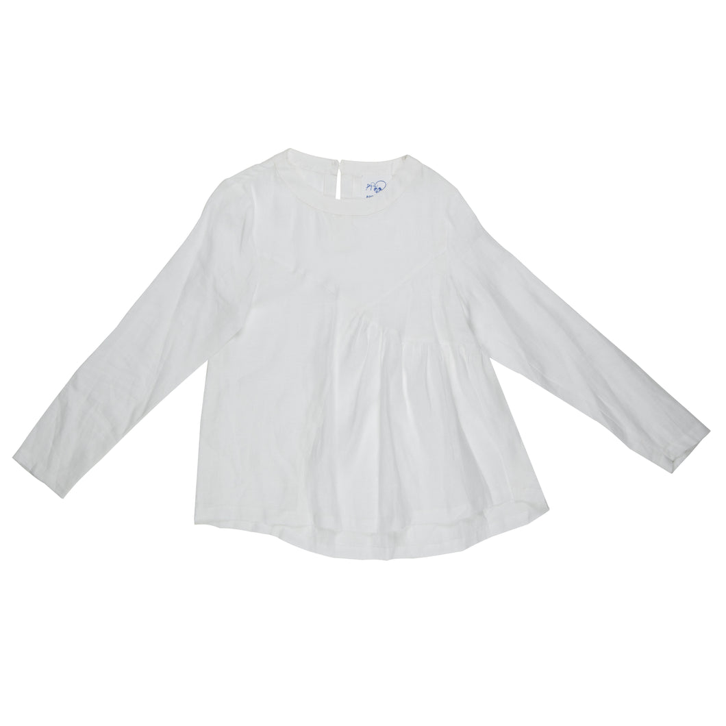 Rafa Linen Blouse - BOO PALA LONDON