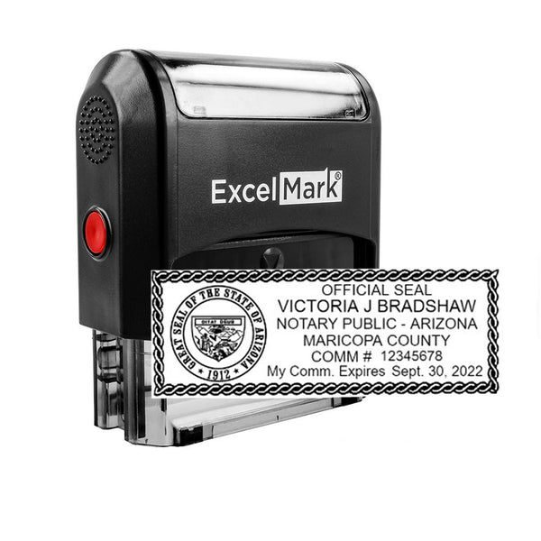 Arizona Notary Stamp - Self-Inking