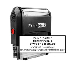 Colorado Notary Stamp - Self-Inking