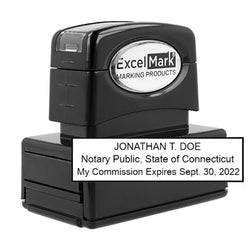 Pre-Inked Connecticut Notary Stamp