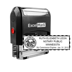 Minnesota Notary Stamp - Self-Inking