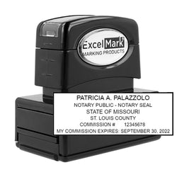 Pre-Inked Missouri Notary Stamp