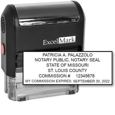 Missouri Notary Stamp Self-Inking