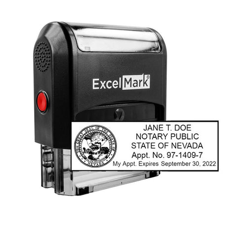 Nevada Notary Stamp Self-Inking