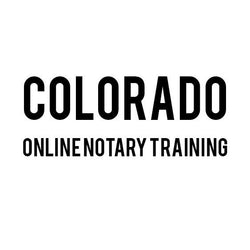Colorado Online Notary Training