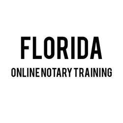 Florida Online Notary Training