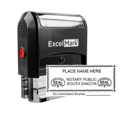 Self-Inking South Dakota Notary Stamp