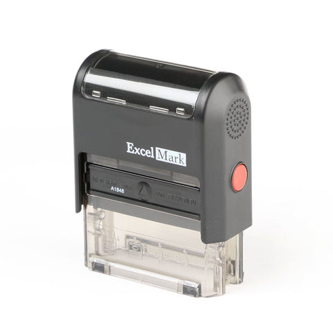 ExcelMark A-1848 Self-Inking Stamp