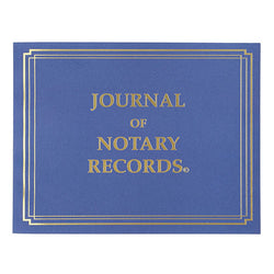 Basic Notary Journal