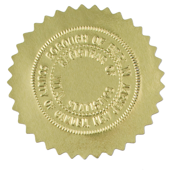 Arkansas Notary Stamp - Round Self-Inking – NotaryStamp.com