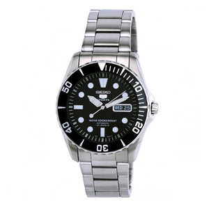 Seiko Men's SNZF17K1 5 Sports Silvertone Automatic Watch | Overstock.com Shopping - The Best Deals on Seiko Men's Watches